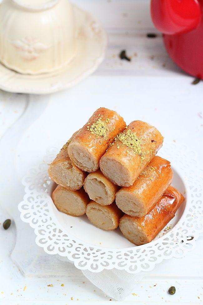 Délices d'Orient: Cigares aux amandes