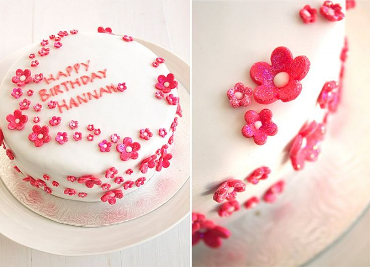 Cake Decorated With Gumdrop Flowers : 1000+ images about Cake Ideas - mothers day on Pinterest ...