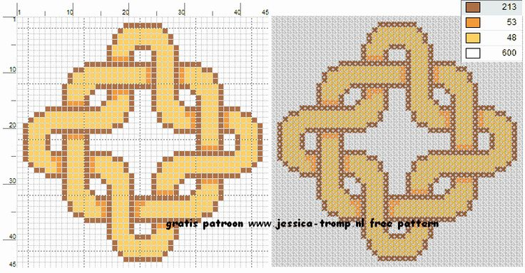 135 Free cross stitch designs celtic knots 1 stitchingcharts borduren gratis borduurpatronen keltische knopen kruissteekpatronen