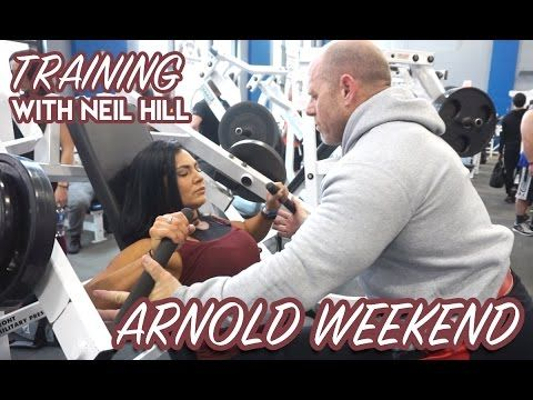 Join me for brief clips as I head to COLUMBUS OH for the 2017 ARNOLD EXPO. Wish I would have been a better Youtuber and got more clips for you all. BUT stay tuned for the workout edits from my training session with Neil Hill - coming from WLF Collective very soon!!  CONNECT WITH ME MORE IG / Twitter / Snap @ChanelCollette www.instagram.com/chanelcollette  www.ChanelCollette.com FOR COACHING:  TeamSlice.Coaching@gmail.com