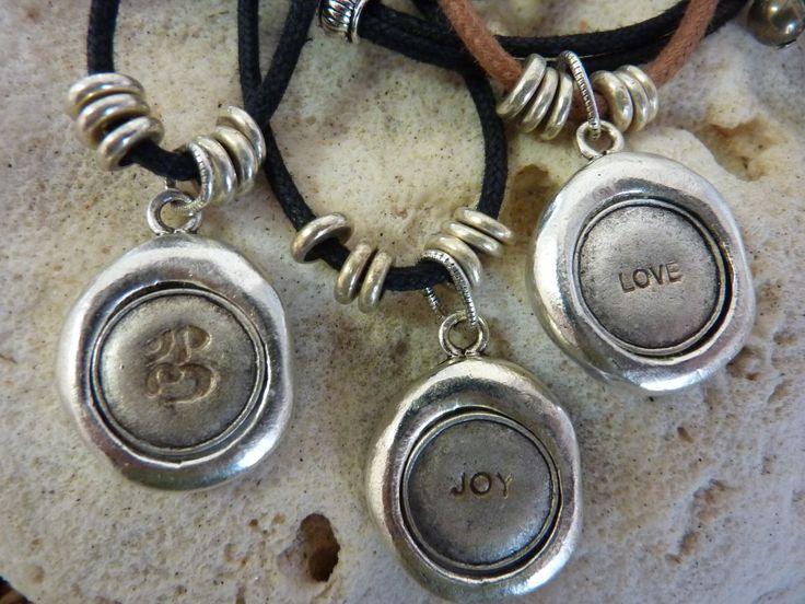 Antique Keepsake Pendant on Tan - handmade crystal energy gemstone jewellery Earth Jewel Creations Australia