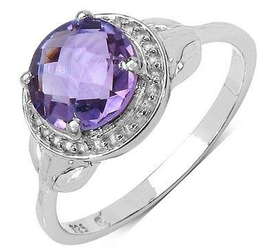 Ametystový prsten ze stříbra #ametyst #ametystovyprsten #prstenysametystem #fialovydrahokam #prsteny #stribrneprsteny #prstenystribro #diamanty #diamantoveprsteny #snubniprstenypraha