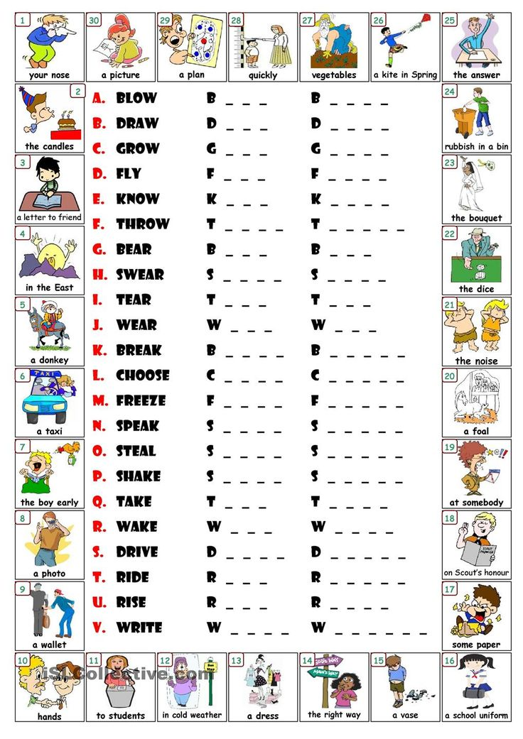 Best 25+ Irregular verbs ideas on Pinterest Irregular past tense - action words list