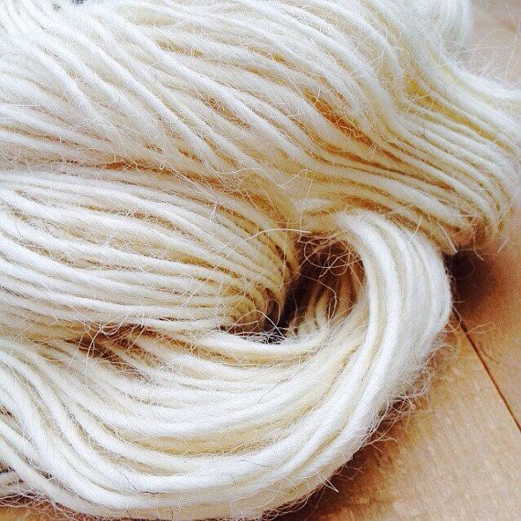 Devon and Cornwall Longwool Handspun British Wool Yarn Hank Skein