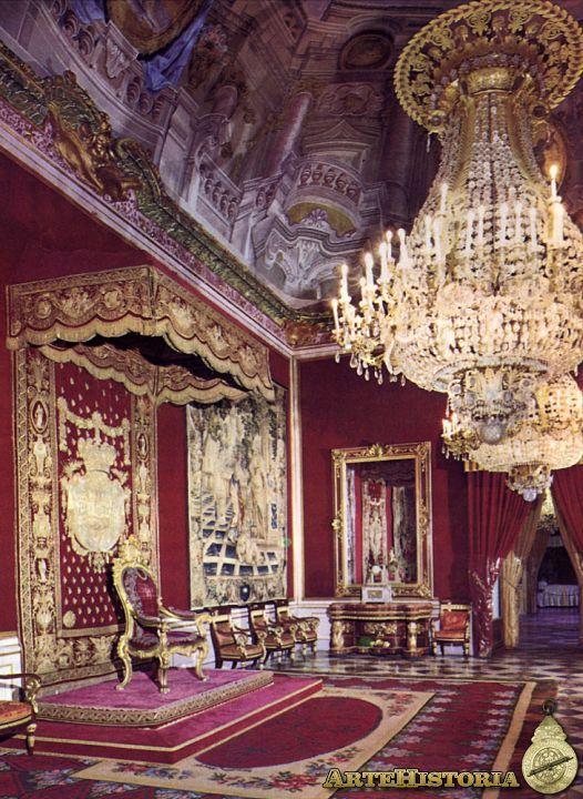 Palacio Real (La Granja de San Ildefonso, Segovia). Sala del trono