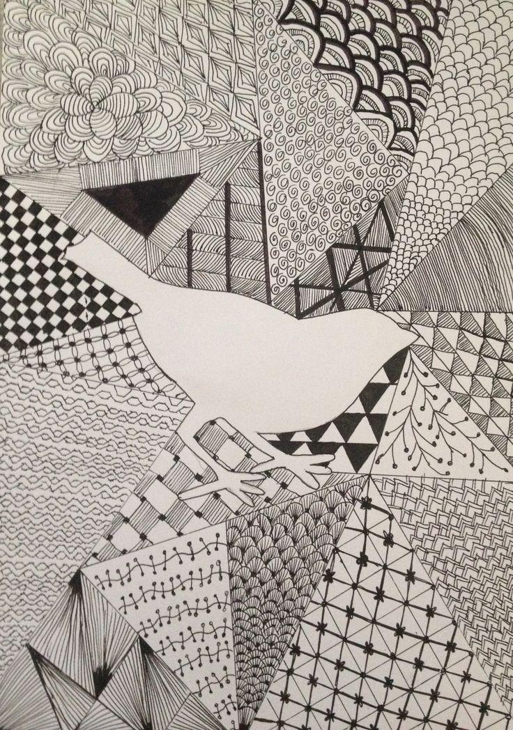 fugl siluet tegning - Google-søgning