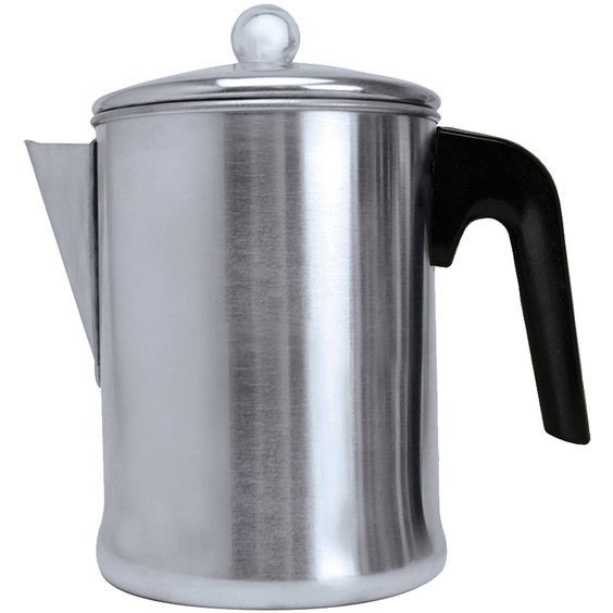 Aluminum 9-Cup Percolator, 7.80 x 4.96 x 7.48 >>> Check this awesome image  : Coffee Maker