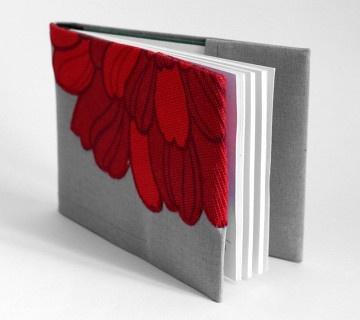 okładka na indeks - kwiat cięty
