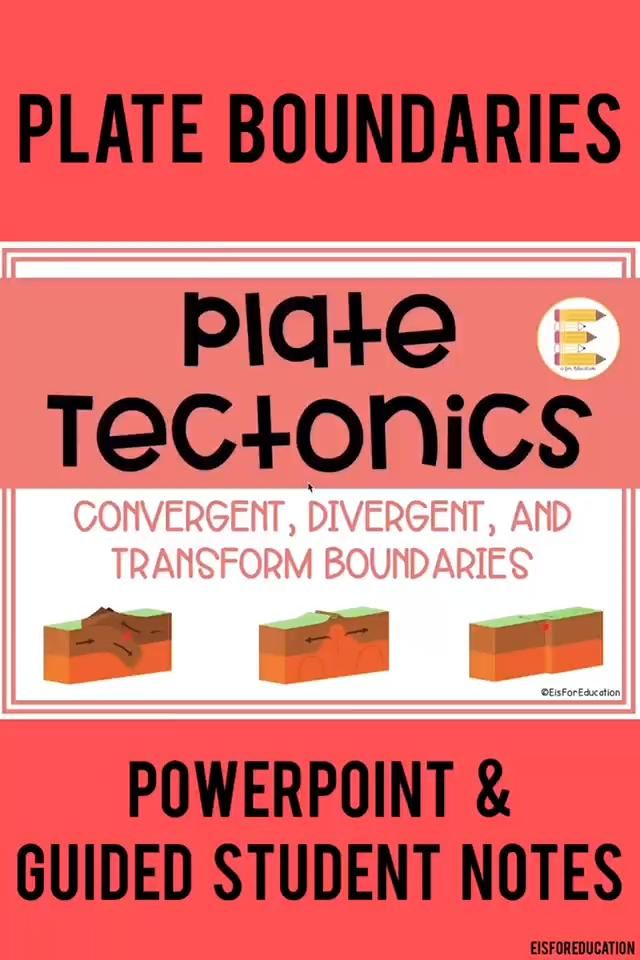 Plate Tectonics: Convergent, Divergent, & Transform ...