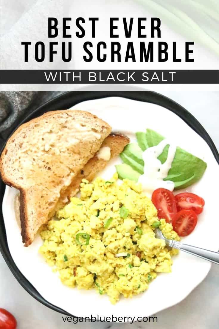 Best Tofu Scramble Recipe Tofu Scramble Food Recipes Scrambled Tofu Recipe