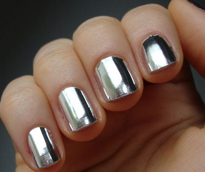 Essie~No Place Like Chrome