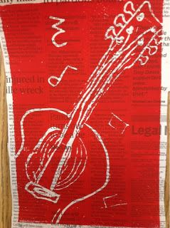 Mrs. Knight's Smartest Artists: printmaking