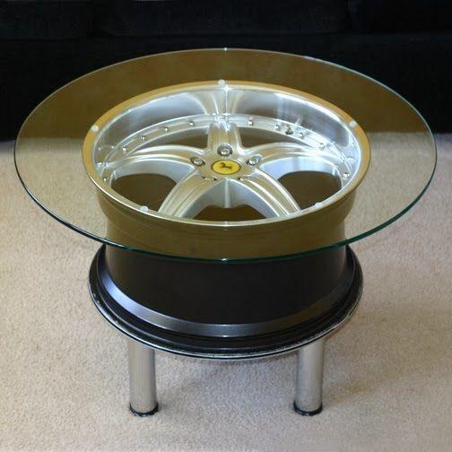 Ferrari Wheel Table Car Furniture In 2018 Pinterest Ideas And Cars
