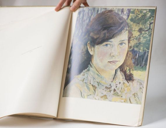 Painter book Valentin Serov  Russian painting art book  by 4Rooms