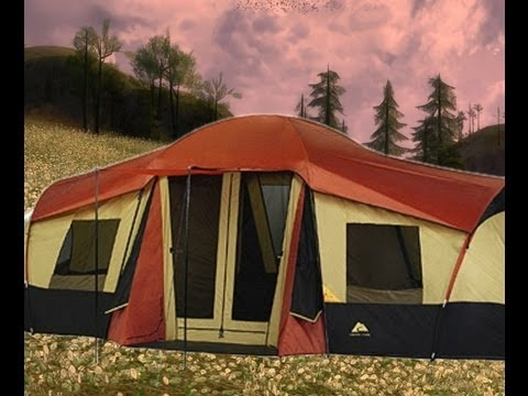 Ozark Trail 3 room tent (part 1) - YouTube