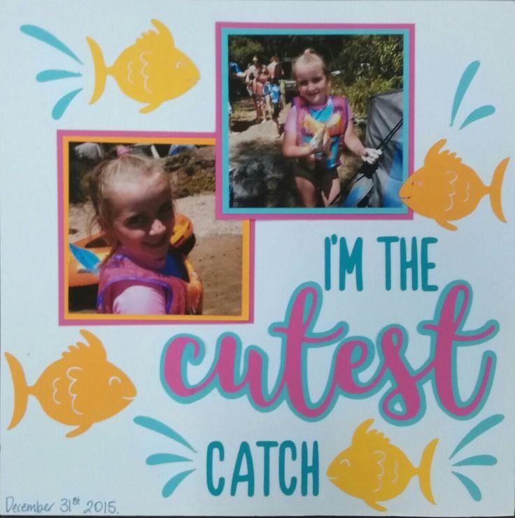 Scrapbooking cutest catch