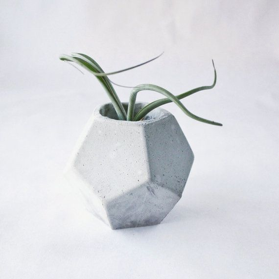 Dodecahedron by ConcreteGeometric on Etsy