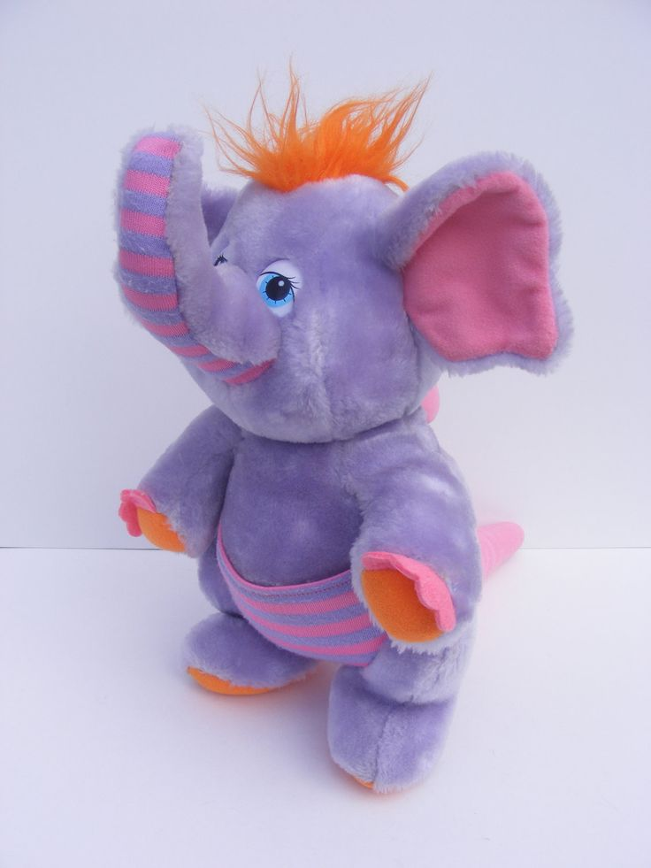 Eleroo Was a Wuzzle... 1980s Stuffed Animal Toy. I had one of these..and it came with a book.