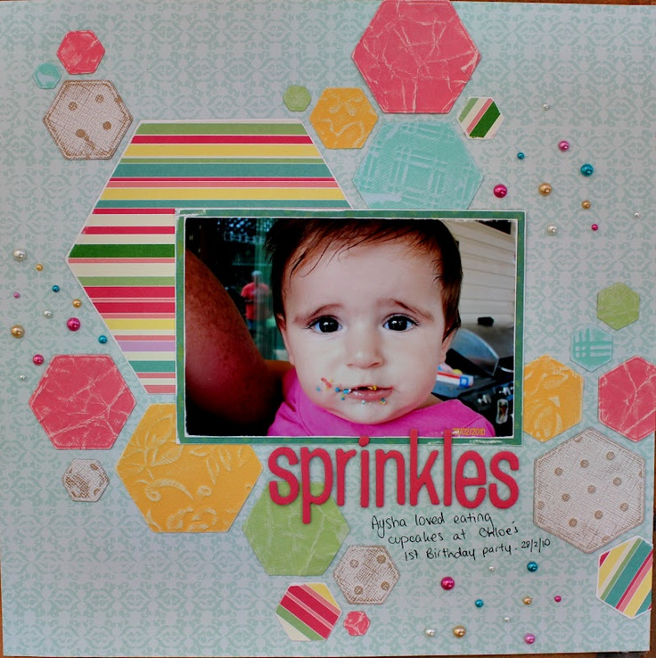 Sprinkles by Amy Prior using Websters Pages About a Girl Collection & Core'dinations from www.passion4paper.com.au