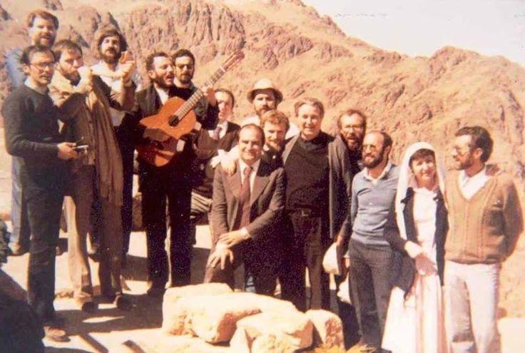 Kiko Carmen en el monte Sinai