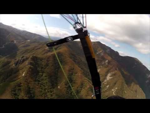 Paragliding over the #Misiryeong Ridge Mountains, #Gangwon Province, Korea. (Part 4) | 미시령 패러글라이딩