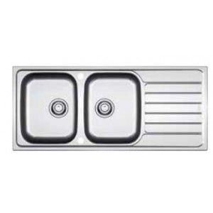 Franke Spark Sink : Evier 2 cuves Spark Inox-DEKOR SKL621 Frank? saniweb 242? Bains ...