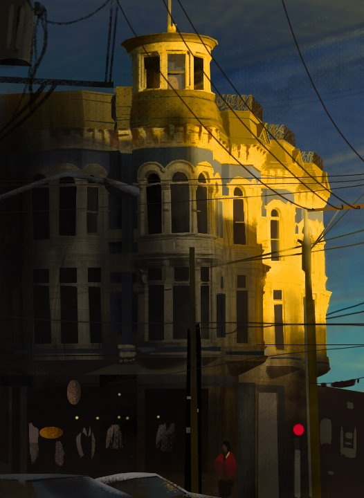 I love the light in this.  Old Port Townsend by Mike Hernandez.