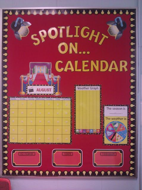 hollywood classroom theme | Classroom Tour - Bulletin Boards