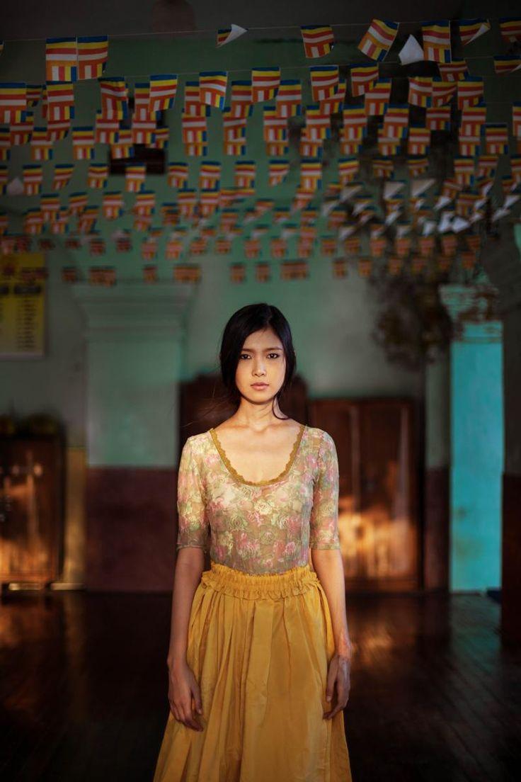 Девушка из Мьянмы Yangon, Myanmar