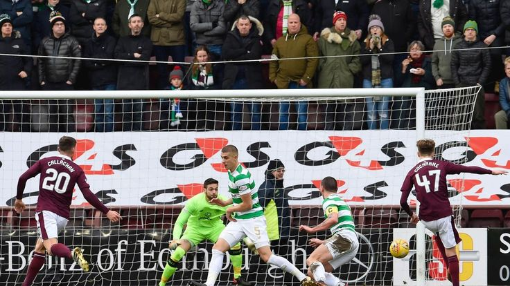 Cochrane, 16, scored the first goal of his career.  Hearts 4 Celtic 0  Celtic lost an SPFL game today. Those six words have not applied for 19 months and 69 consecutive games, and not at all since Brendan Rodgers took over in the summer of 2016, but now it's over.