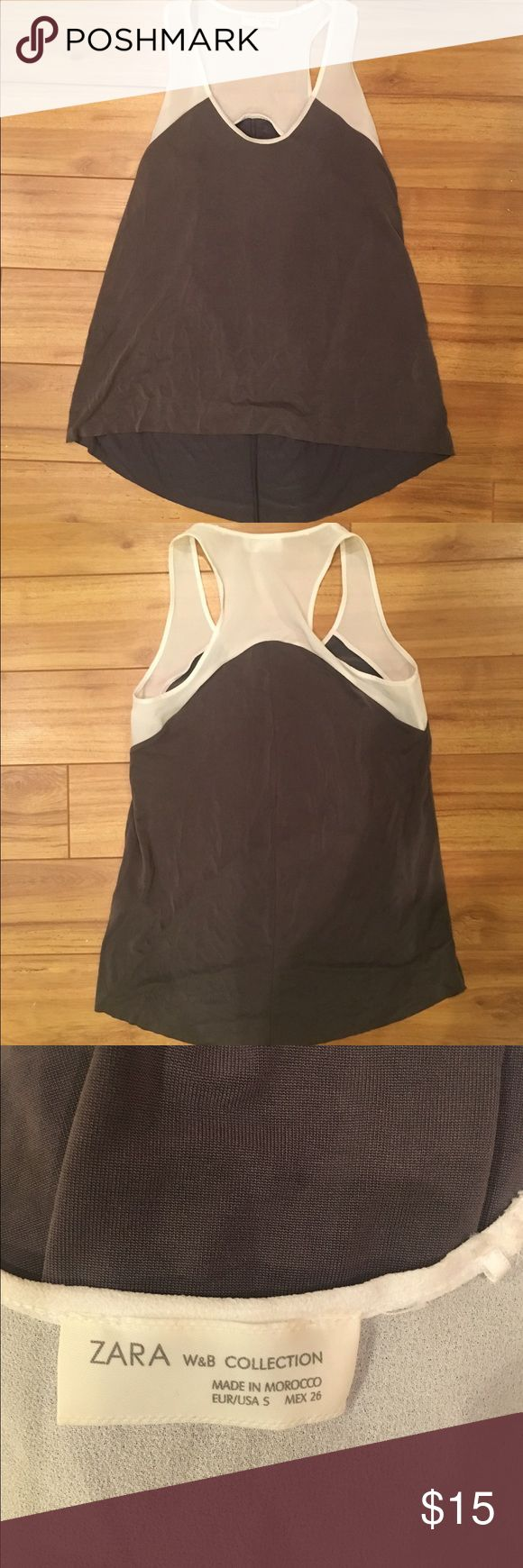 Zara Shirt - Size S No rips or stains. Zara Tops