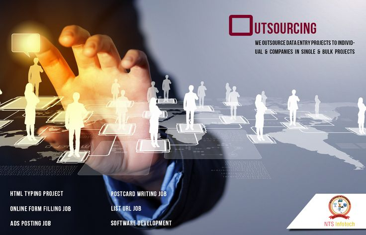 NTS Infotech Outsource Data Entry Projects to Individual & Companies in Single & Bulk Project. For more visit http://www.ntsinfotechindia.com/