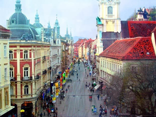 La ville de Graz | Europa-planet