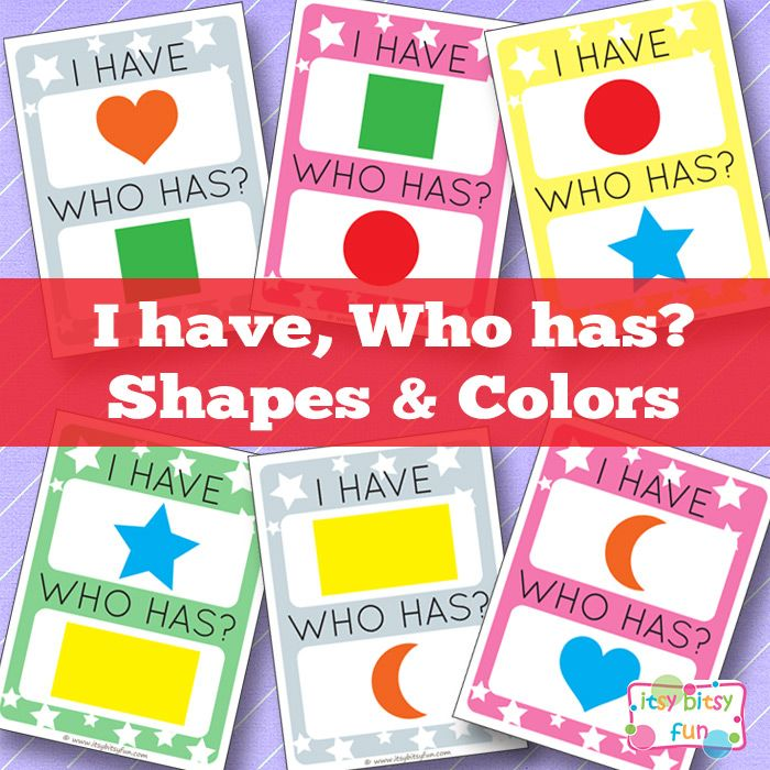 205 best colors and shapes images on Pinterest | Preschool ...