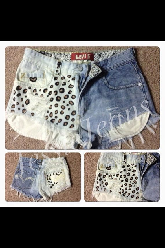 Hey, I found this really awesome Etsy listing at https://www.etsy.com/listing/107060635/vintage-high-waisted-destroyed-leopard