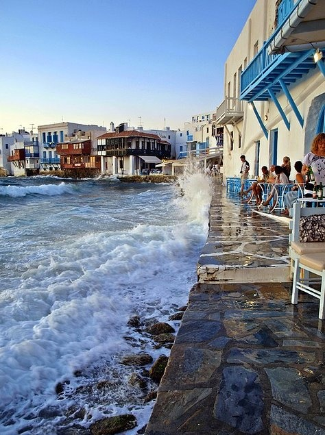 Seaside, Mykonos, Grecia