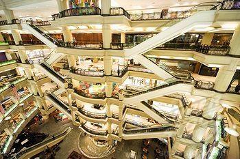A shopping mall in Malaysia