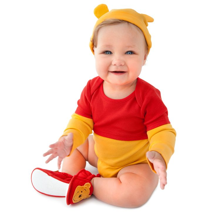 Winnie the Pooh baby costume - so cute!!
