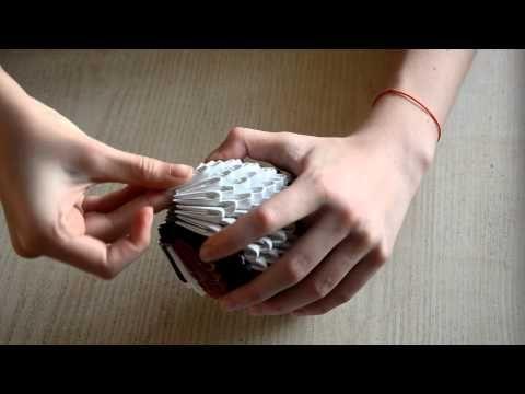 Сова из модулей 3D Оригами | Оригами для Начинающих
