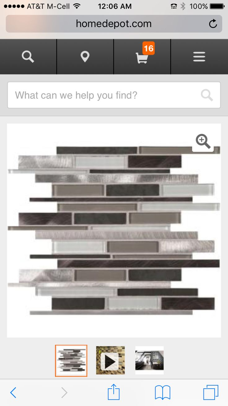 This is the backsplash to be put up. | Mosaic wall tiles ...