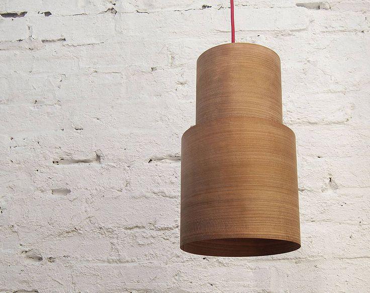 Retro Wood Pendant Lampshade