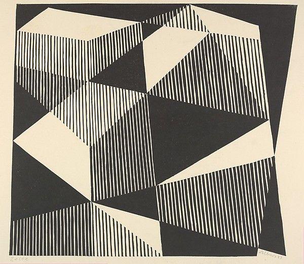Josef Albers, Tents, 1933
