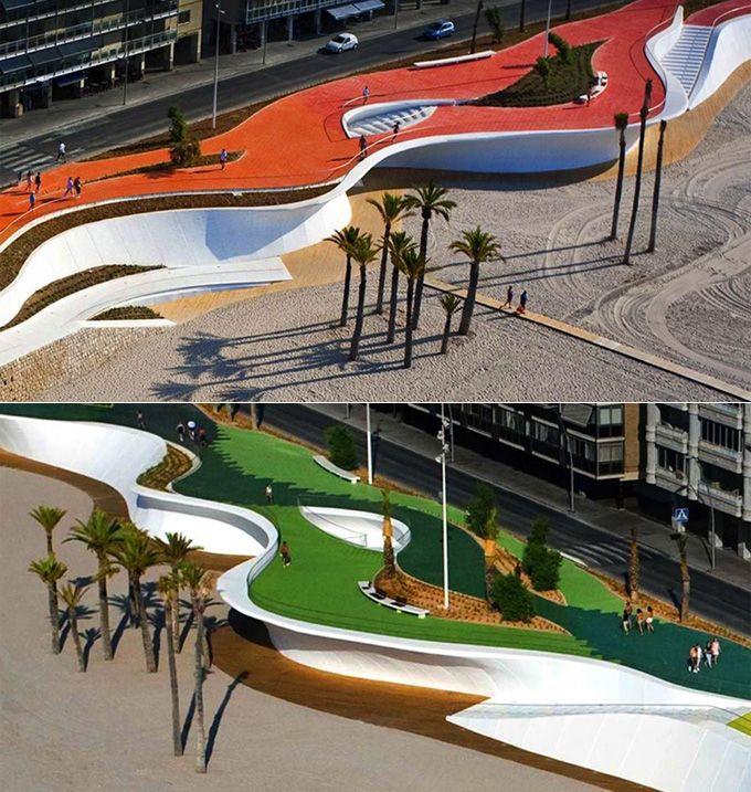 E se as orlas das grandes cidades brasileiras fossem assim? | Quando o Design Jaeh | iBahia