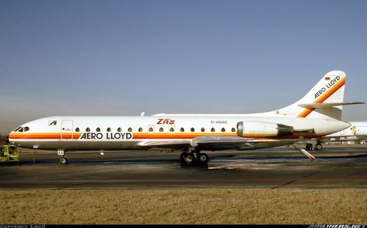 Sud SE-210 Caravelle 10B1R - Aero Lloyd | Aviation Photo #4489327 | Airliners.net