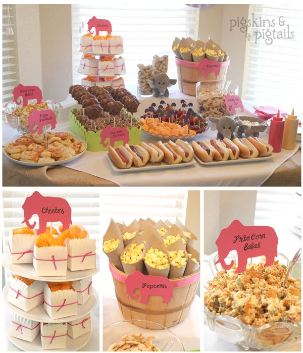 Elephant Theme 3rd Birthday Party | Pigskins & Pigtails