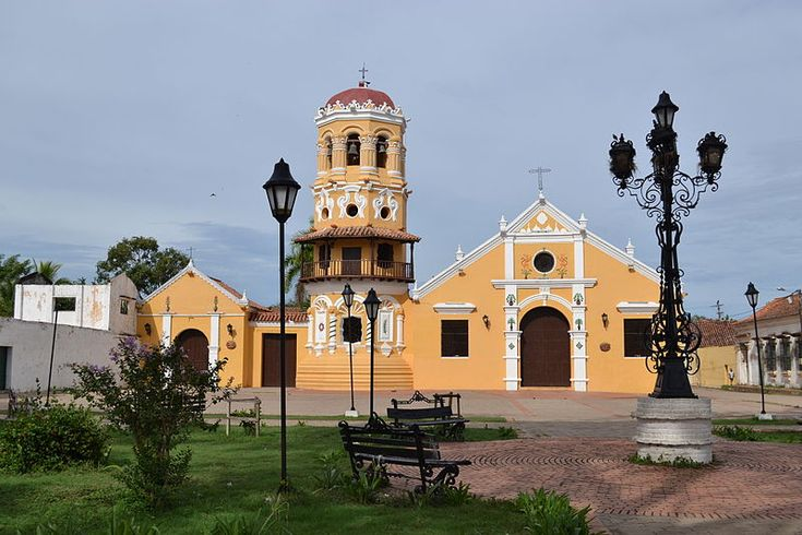Santa Barbara Church, Santa Cruz de Mompox, Colombia