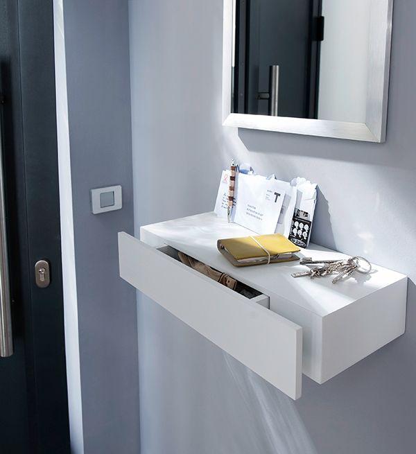 50 best Déco Blanc images on Pinterest Dorm rooms, Grey and Lounges - meuble vide poche design