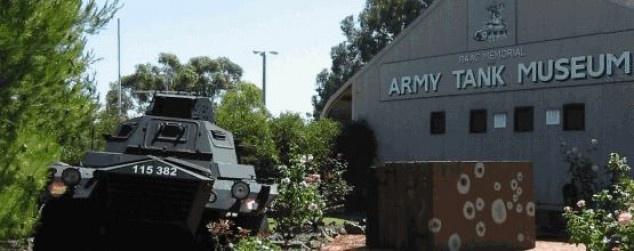 RAAC Memorial and Army Tank Museum in Seymour