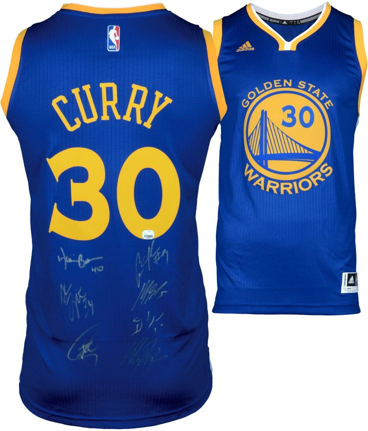... Golden State Warriors Autographed Stephen Curry Swingman Jersey with  Mulitple Signatures - Limited Edition 2- ... 30171752d