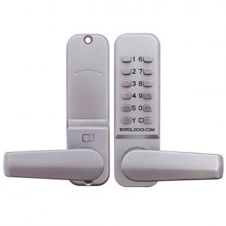 BORG DIGITAL LOCK BL2401SC EASICODE LEVER HANDLE - (BL2401SC) - LSC - Secure your world - leading security products